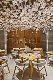 Bar Interior Design Dual Design In Spain Inspired By Japanese Culture Nozomi Sushi
