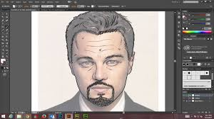 how to create digital art and marker style portrait with adobe