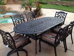 cast iron patio set table chairs garden furniture home design ideas