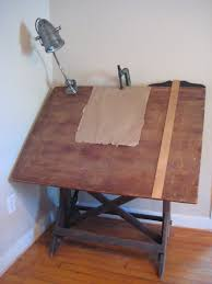 Wood Drafting Table The Smith Nest Antique Drafting Table