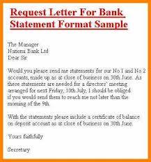 Request Letter Asking For Certification letter asking bank statement erpjewels