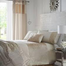 boulevard cream crushed velvet quilt duvet cover