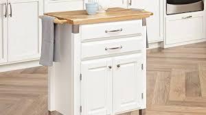 island kitchen carts gourmet rolling prep serve kitchen cart home styles white