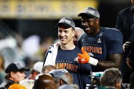 Von Miller Memes - peyton manning and von miller after super bowl 50 abc news