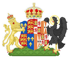 Family Crest Flags File Coat Of Arms Of Catherine Of Aragon Svg Wikimedia Commons