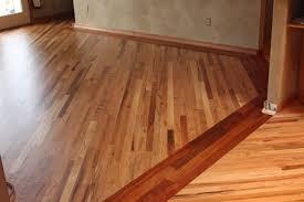 oak flooring with cherry border family room