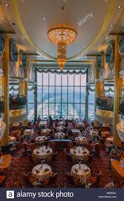 inside the dining room at the ms color magic a cruiseferry owned