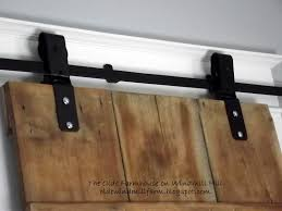 Old Barn Doors Craigslist by The Olde Farmhouse On Windmill Hill Diy Barn Door Details