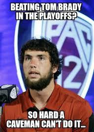 Neckbeard Meme - andrew luck meme colts caveman neck beard shit that makes me