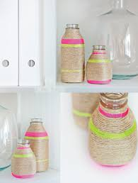 simple home decor crafts by laura parke so cute i have a few sparkling water bottles to