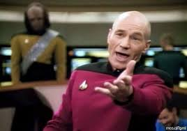 Meme Generator Picard - picard wtf even from here blank template imgflip
