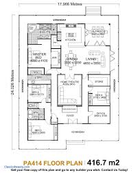 large single story house plans floor plan one story 3 bedroom modern house plans nrtradiant