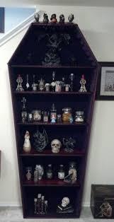 coffin bookshelf our diy coffin shelves shelves easy and