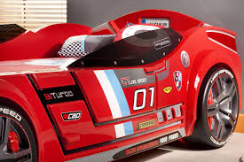 car bed for girls tb 6754 turbo car bed red
