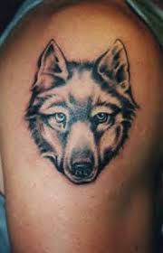 lone wolf tattoos on arm pictures