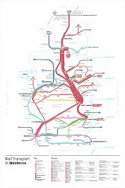 Transit Maps Of The World by Game Of Thrones Transit Maps U2013 Ucreative Com
