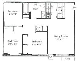 three house plans a three bedroom house plan 3 bedroom house plans with photos in