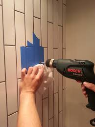 how to drill into tile u2014 decor and the dog