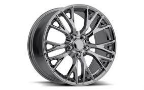 chrome corvette wheels c7 corvette z06 reproduction wheels set chrome pfyc