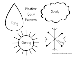 puppets that represent different types weather pdf 574268