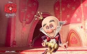 king candy wreck ralph wallpaper characters disney pixar