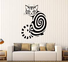 online buy wholesale children 39 s removable wall decals from cut animal wall sticker cheshire cat vinyl decals room removable wall art decoration children s room nursery