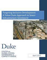 targeting inclusive development a value chain approach to sewer