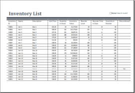 Excel Inventory Templates 25 Inventory Spreadsheet Templates For Everyone Templateinn