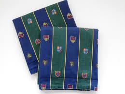 pair ralph lauren standard pillow sham chappel university