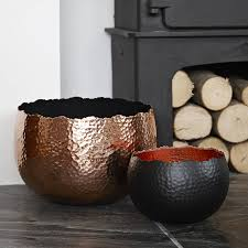 copper in home decorating nutmegdesignsblog original hammered copper bowl