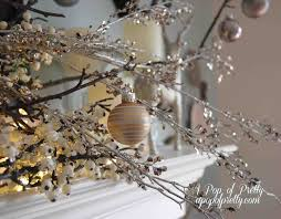 beautiful white christmas decorations cheminee website