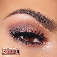 maryam maquillage naked 3 tutorial rosy smokey