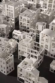 Ingrid Siliakus Paper Architecture Exhibition In Paris