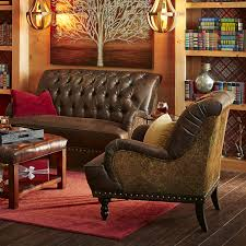 Chas Armchair Chas Coffee Brown U0026 Tapestry Armchair Pier 1 Imports