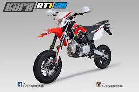 road legal motocross bikes kurz rt1 125 supermoto free shipping