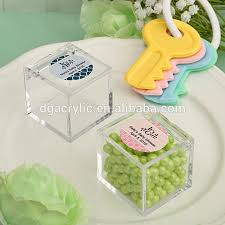 candy favor boxes wholesale wholesale custom small clear acrylic candy boxes with lids buy