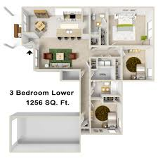 3 bedroom unit floor plans apartment rental rates u0026 floorplans autumn woods community