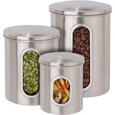 stainless kitchen canisters stainless steel kitchen canisters