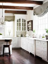 white kitchen cabinets with wood beams kitchen decorating and design ideas wood beam ceiling
