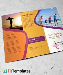 2 fold brochure template retreat tri fold brochure template