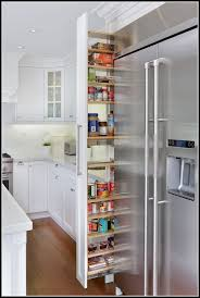 Pull Out Pantry Cabinets Narrow Pull Out Pantry Cabinet Pantry Home Design Ideas