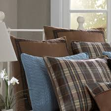 Woolrich Home Comforter Hadley Plaid Euro Sham By Woolrich Hayneedle