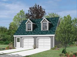 Garage With Loft The Tiara 2 Car Garage With Loft Plan See Details For Plan 002d