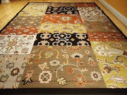 rugs choose your best flooring decorations with brown orange rug