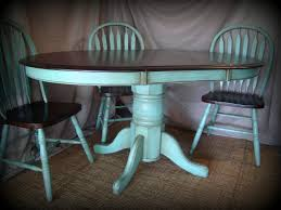 Dining Room Table Refinishing Best 25 Painted Oak Table Ideas Only On Pinterest Round Oak