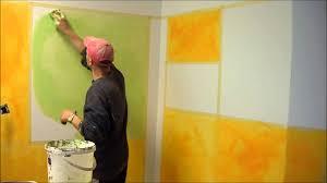 wandgestaltung wischtechnik wischtechnik farbtechnik einfach selber lasur herstellen und