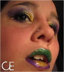 makeup schools in new orleans top 10 festive makeup tutorials in mardi gras colors mardi gras