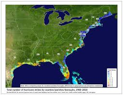 Where Is Mexico On The Map by Tropical Cyclone Climatology