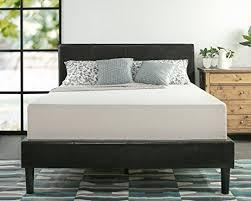 amazon com zinus memory foam 12 inch green tea mattress queen
