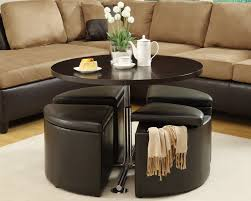 coffee table cozy coffee table with ottoman seating ideas coffee